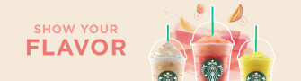 starbucks summer banner