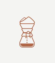 CHEMEX -풍부한 커피향과 균형 잡힌 풍미를 느끼고 싶다면