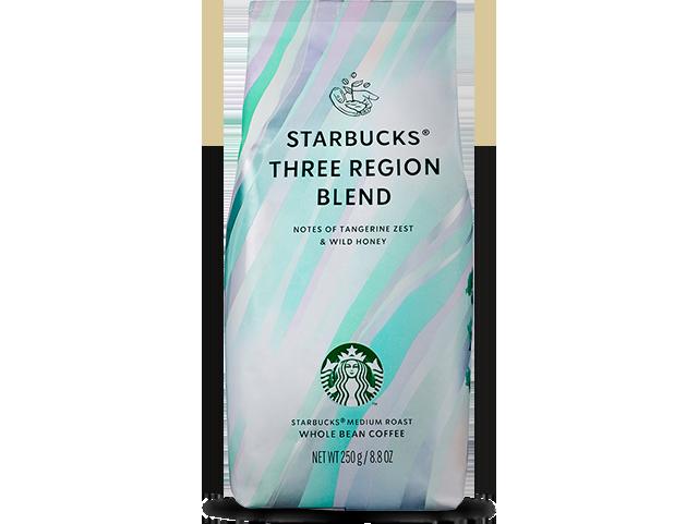 커피의 미래를 위한 스타벅스의 노력. 스타벅스 쓰리 리전 블렌드 250g